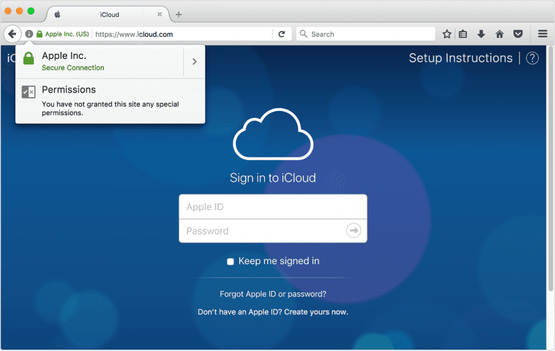 how to secure my iCloud