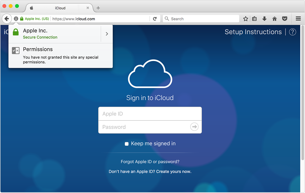 How to secure my iCloud account